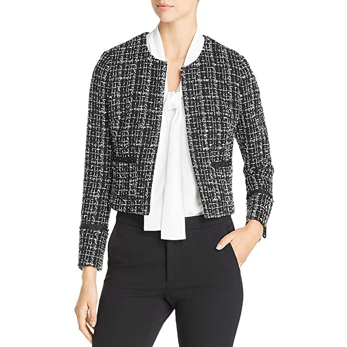 Amazon.com: Hugo Boss BOSS Womens Kalali Tweed Suit Separate ...
