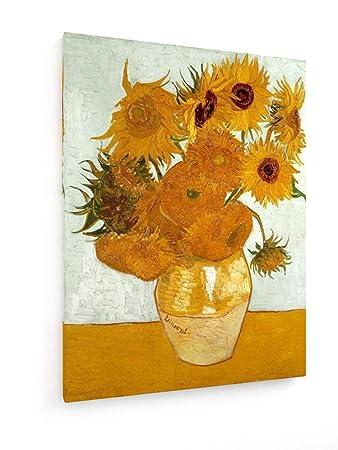 Vincent Van Gogh Zwölf Sonnenblumen In Vase 30x40 Cm