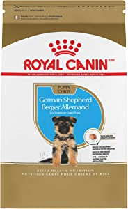 Royal Canin German Shepherd Puppy Breed Specific Dry Dog Food, 30 pounds. bag