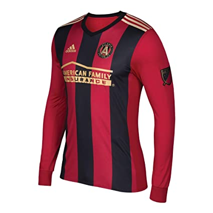 sale retailer 835ca f7d00 Amazon.com : adidas Atlanta United FC Men's Red/Black 2017 5 ...