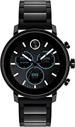 Movado Connect 2.0 Unisex Powered with Wear OS by Google Stainless