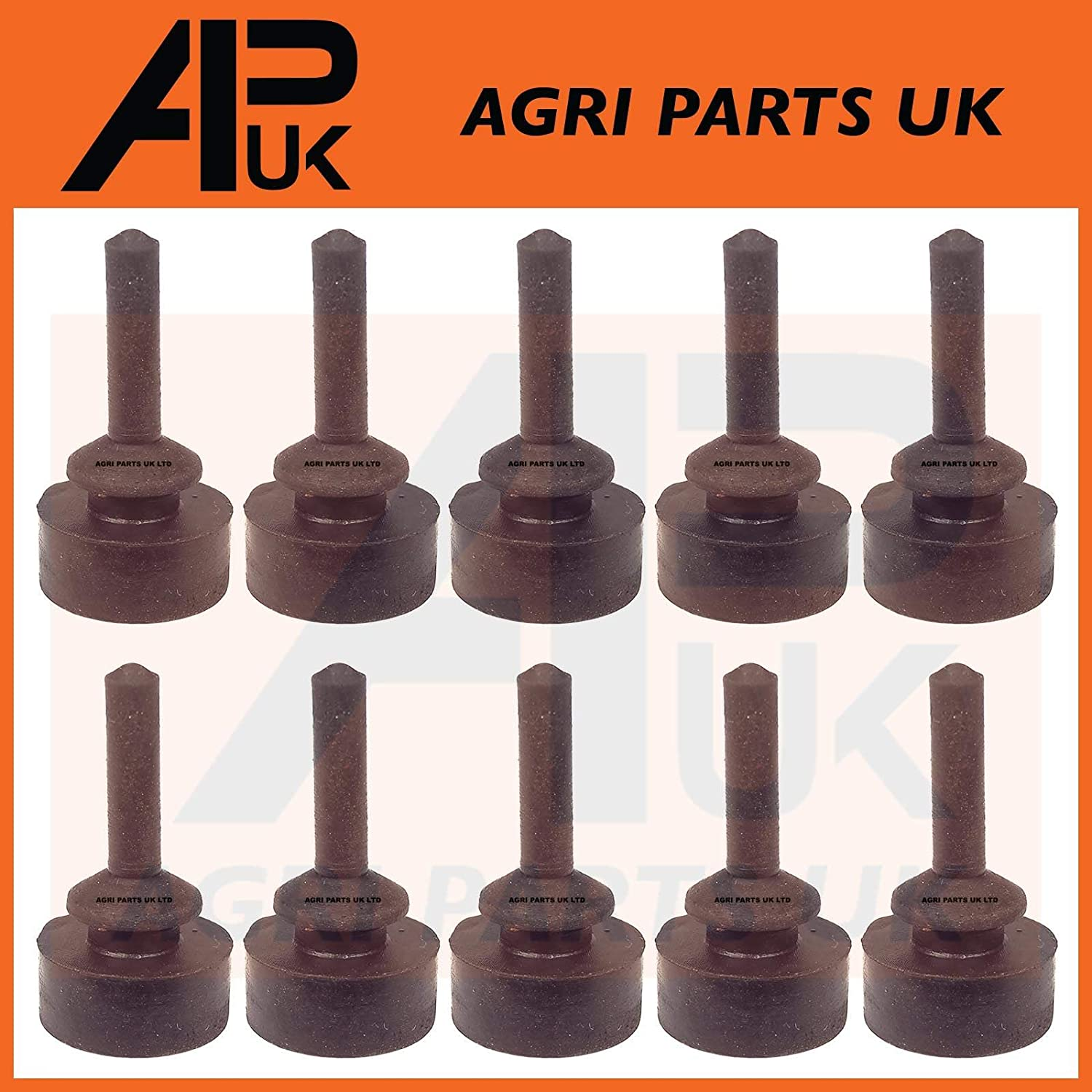 APUK 10 Massey Ferguson New Holland Tractor Bonnet Panel Rubber Pad Grommet