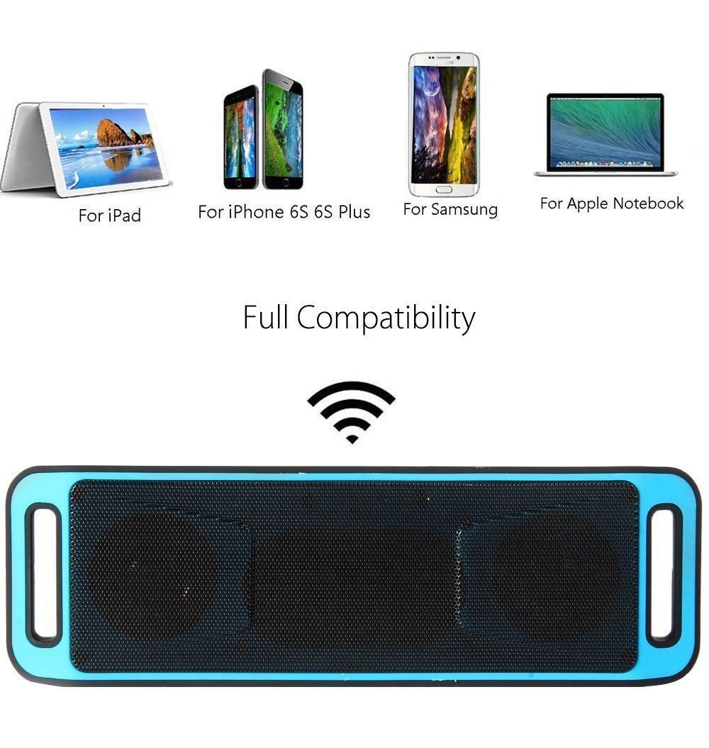 Amazon.com: USB SD Card Reader Portable Bluetooth Wireless FM Radio Stereo Speaker Altavoces For SmartPhone Tablet iPhone Bocinas: Home Audio & Theater
