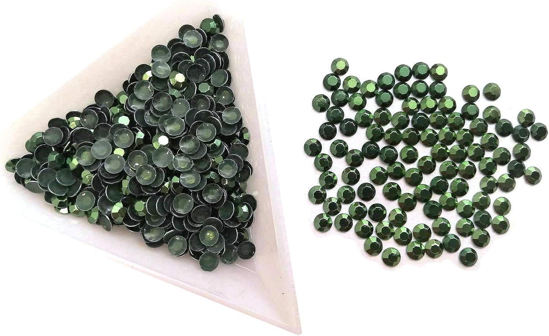 Perlin Hotfix Rhinestuds 2mm 3mm 4mm Metall-Nieten Studs Octagon Thermo Selbstklebend zum Aufb/ügeln B/ügelnieten Lemon, 2mm SS6 2000 St/ück