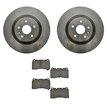 Amazon.com: Front Ceramic Brake Pads & 2 Discs Rotors Set Kit for Camaro SS Regal Turbo: Automotive