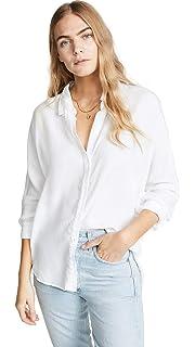 591940be8 Bella Dahl Womens Shirt Tail Tencel Button Down Blue Denim Light ...