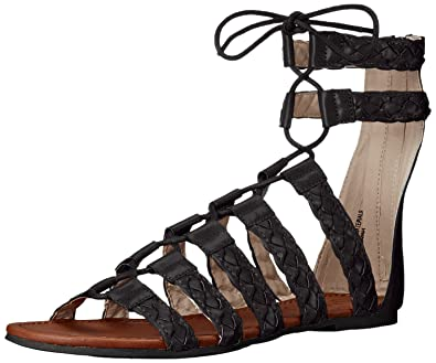 d5bef8a683a5b9 Groove Women s Taila Gladiator Sandal  Buy Online at Low Prices in ...