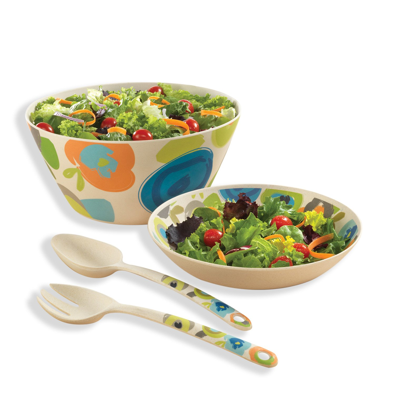 Designer Salad Serving Set (Fruit Salad Set)