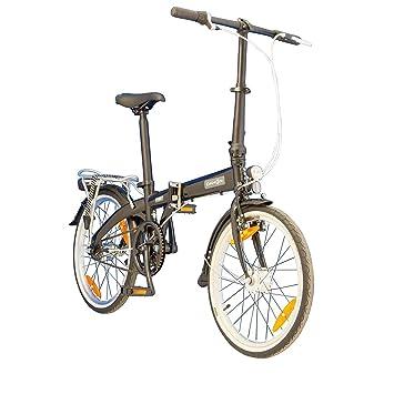 Dahon Faltrad VYBE i3 3 Gang Schwarz 20 Zoll Alu Klapp Fahrrad Damen Herren Faltbar Gepäckträger