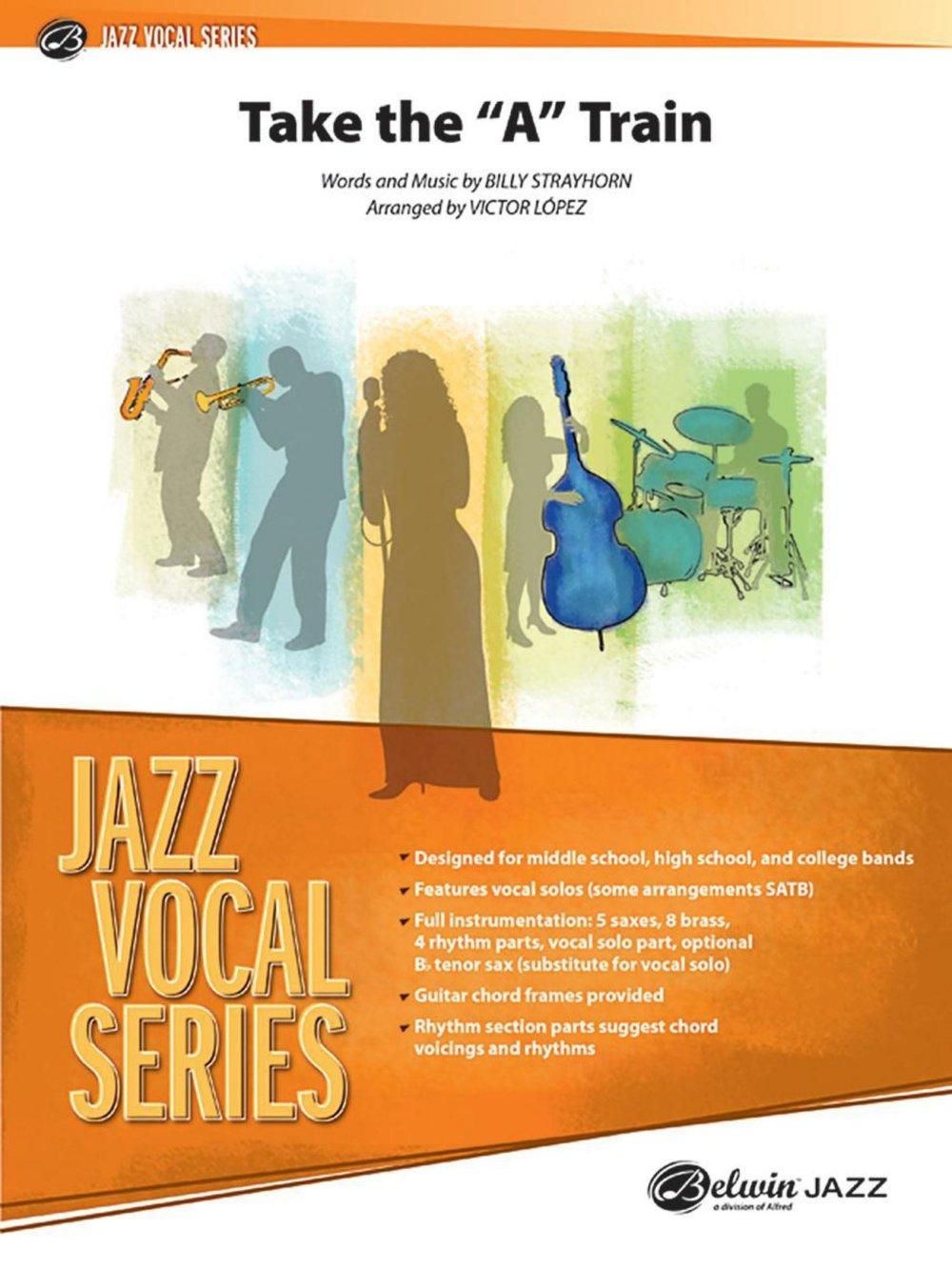 Amazon Alfred Take The A Train Jazz Vocal Band Grade 25 Set