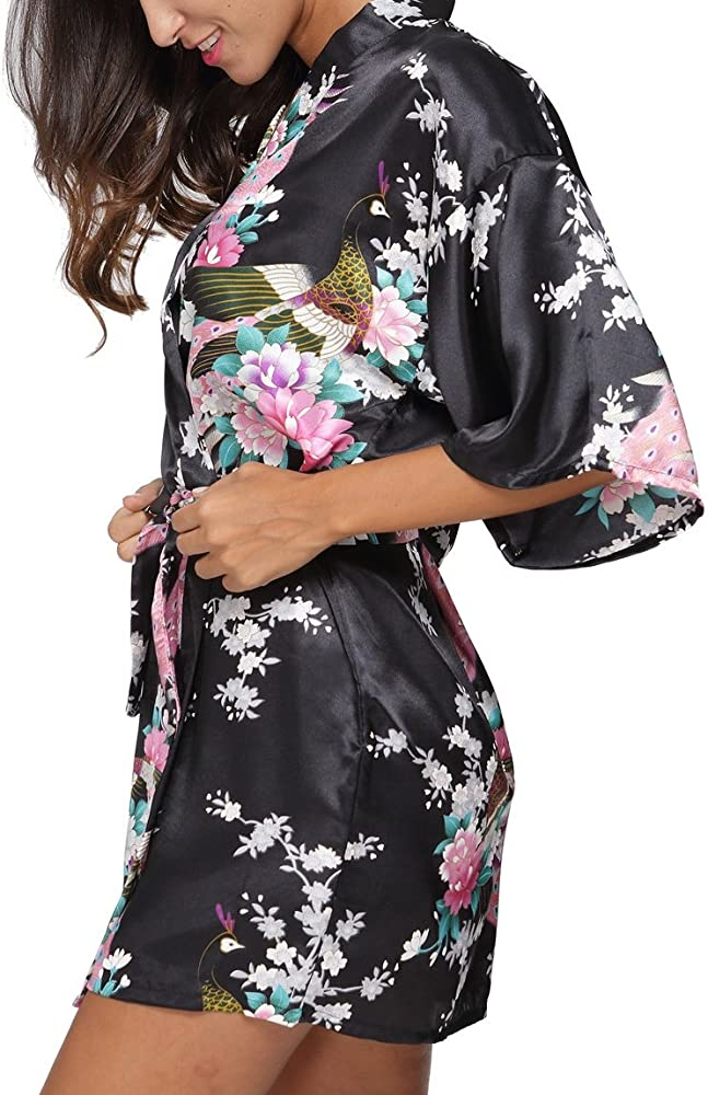 Amazon.com: Kimono original para mujer, kimono corto, bata ...