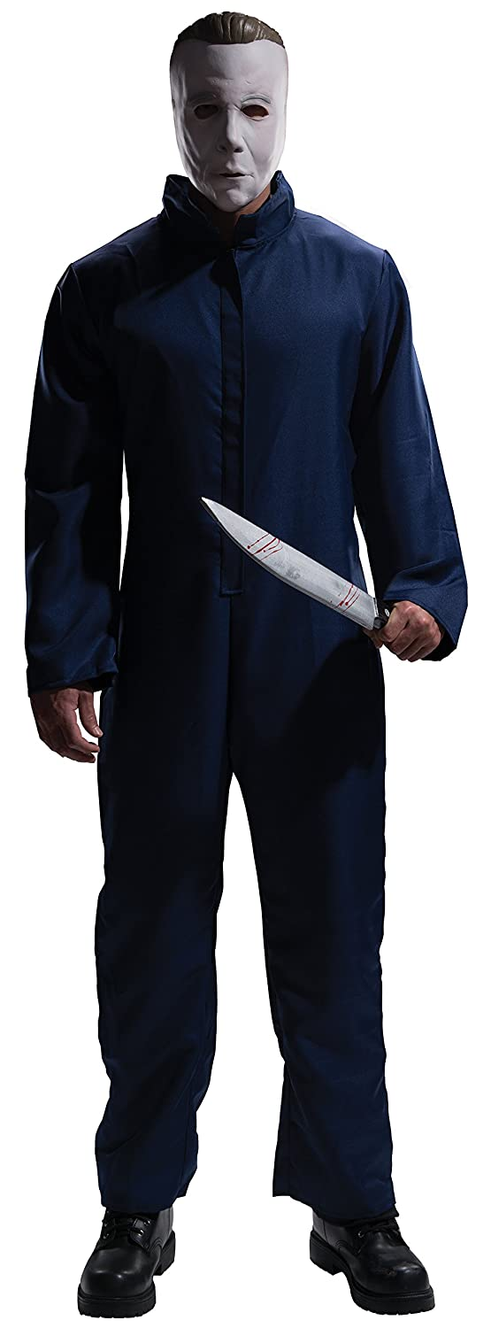 Amazon.com: Rubies Halloween Movie Complete Michael Myers Adult, Blue, X-Large Costume: Clothing