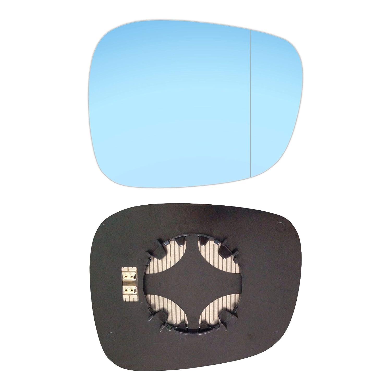 Rechts Blau Beifahrerseite Asph/ärish Spiegelglas mit Platte und Heizung #AM-BWE8409-RWABH