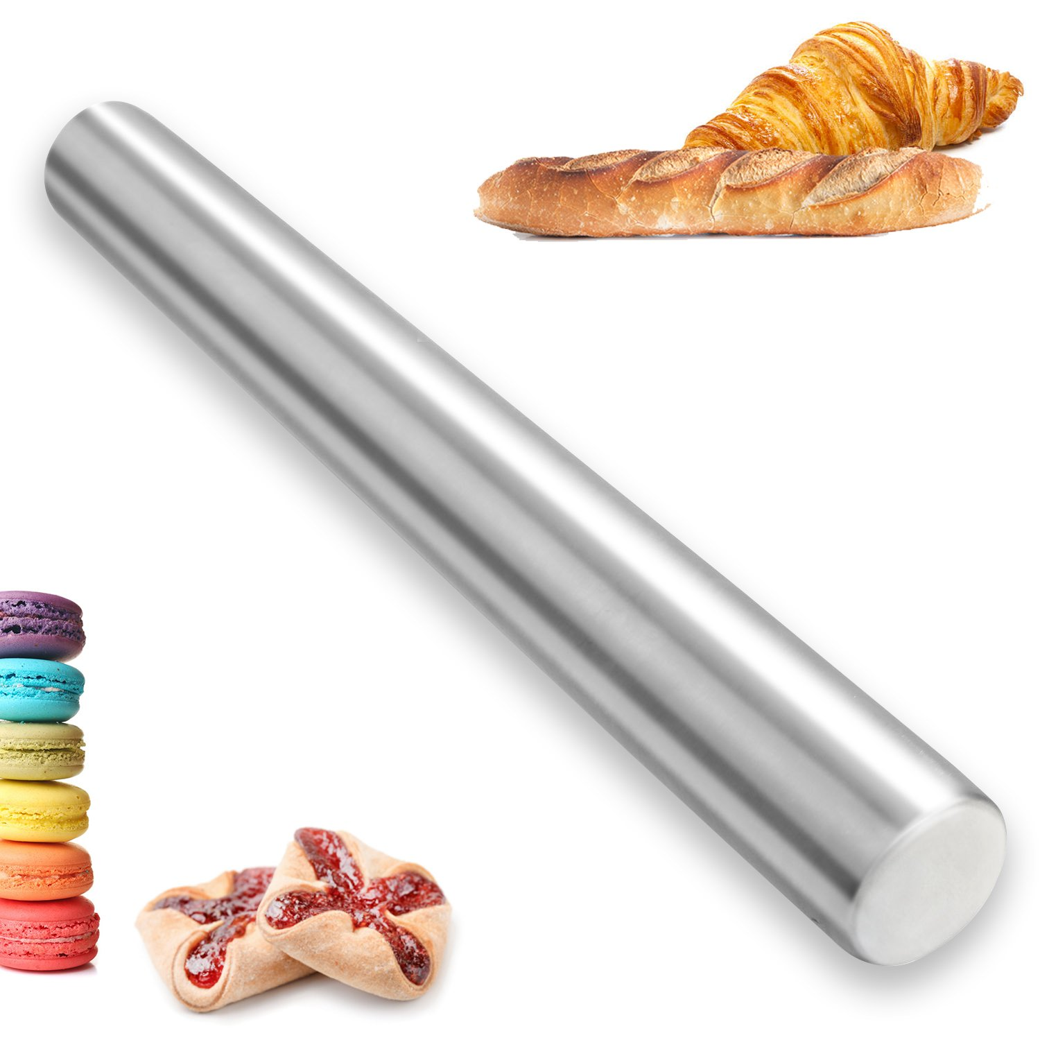 Stainless Steel Rolling Pin Kitchwise