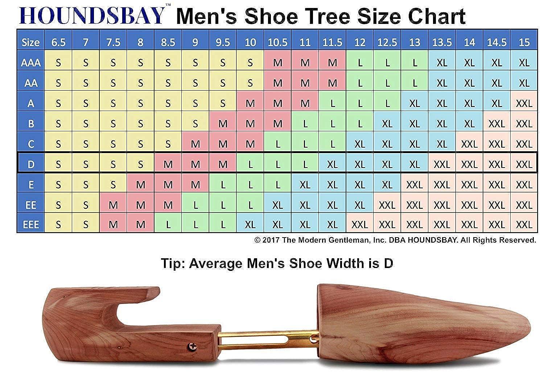 Purchase Plants a Tree in USA HOUNDSBAY Mens Cedar Shoe Tree with Wide Heel