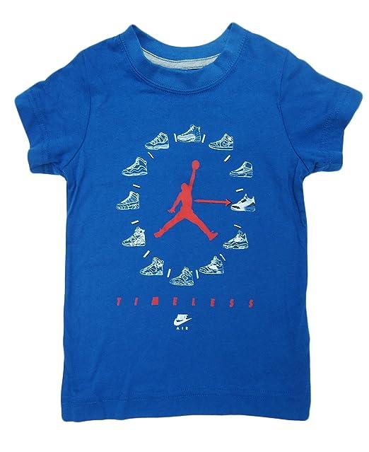 0c47ab824ea Amazon.com: Nike Air Jordan Toddler Boys Jersey T-Shirt (2T, True ...