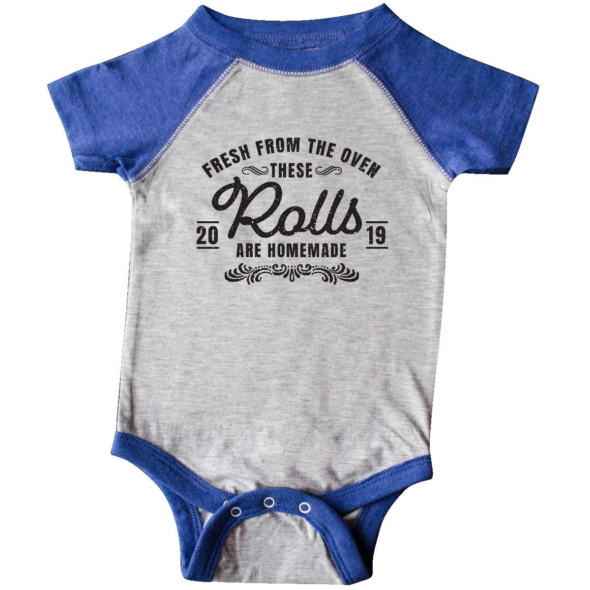 inktastic Fresh from The Oven These Rolls are Homemade 2019 Infant Creeper