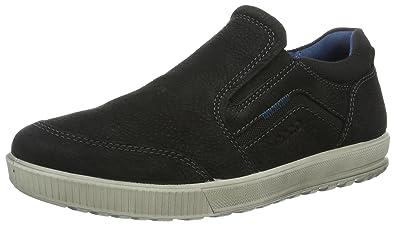 Ecco Ennio, Sneakers Basses Homme, Noir (51052Black/Black), 40 EU