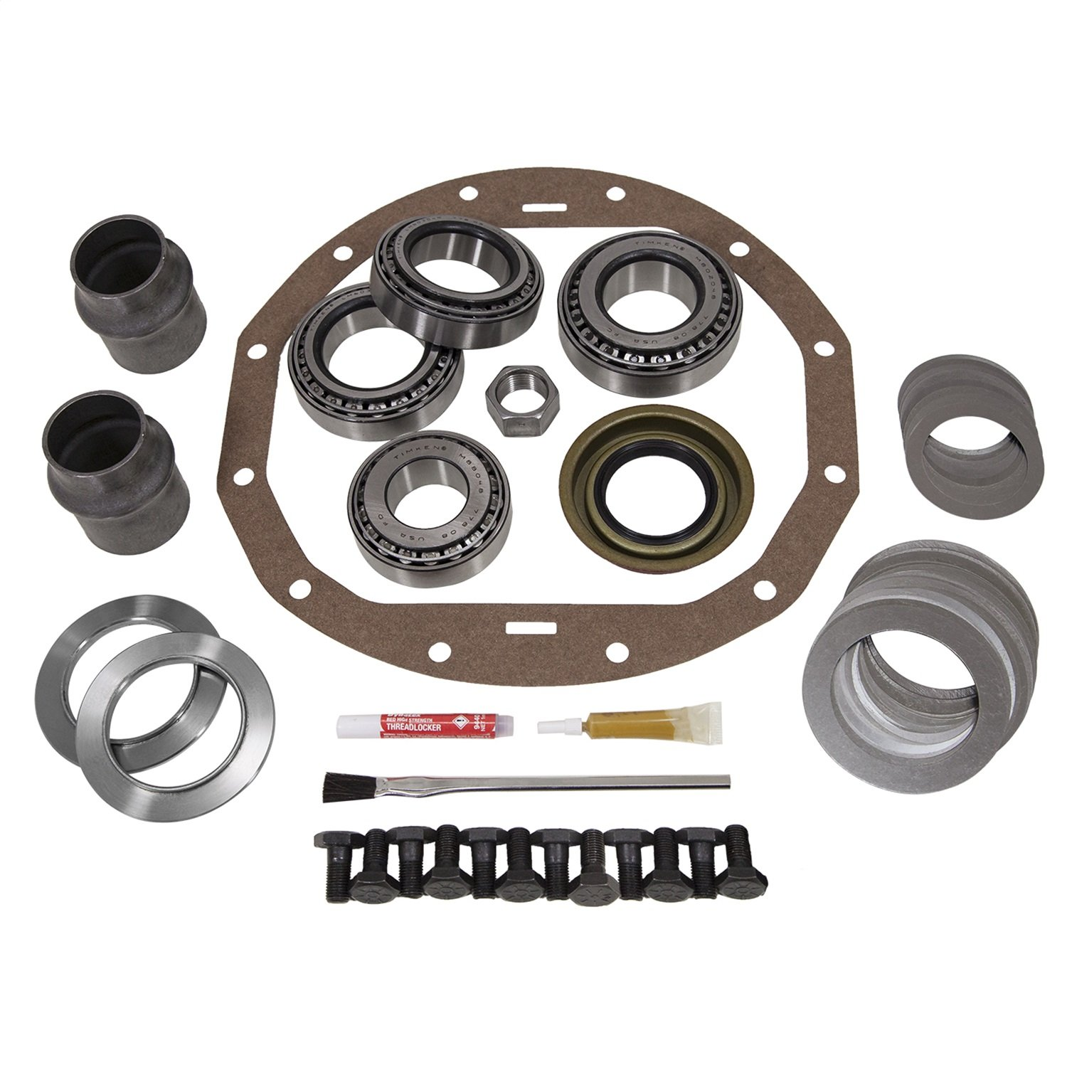 USA Standard Gear (ZK GM12P) Master Overhaul Kit for GM 12-Bolt Passenger Car Differential