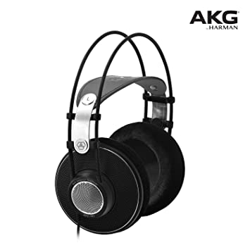 AKG K612PRO Studio Headphones (Black) Over-Ear Headphones at amazon