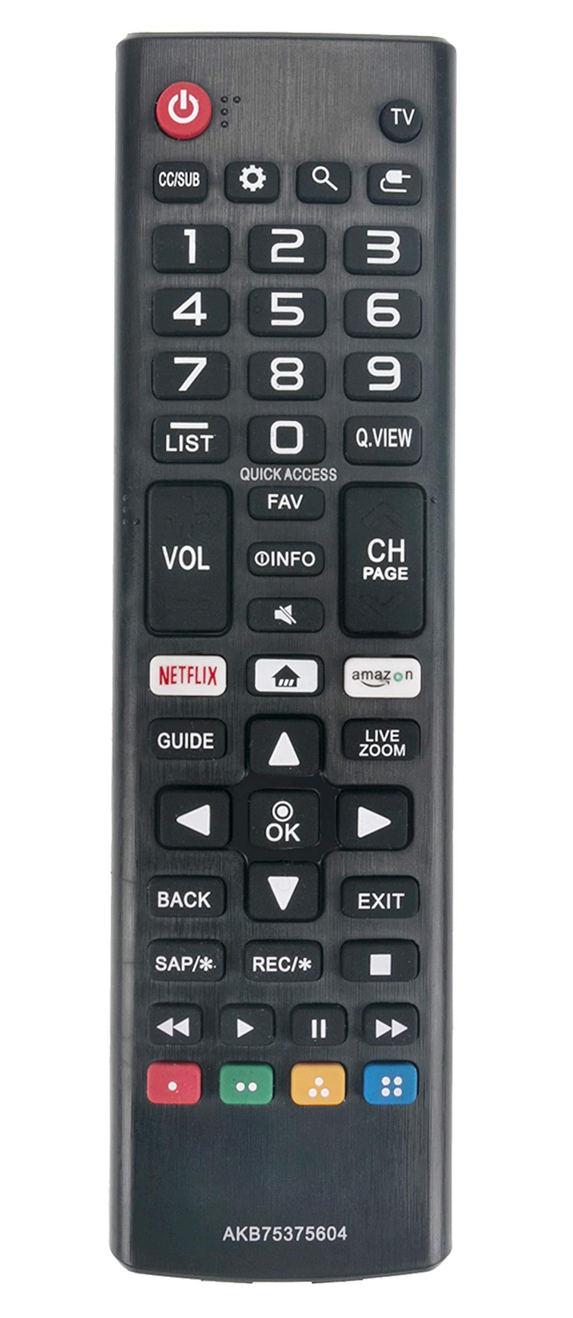Control Remoto LG TV 4K HDR Smart LED UHD TV 50UK6090PUA ...