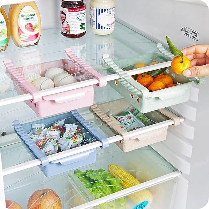 pythonworld lado y organizador de almacenamiento frigorífico ...