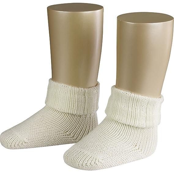 FALKE – Calcetines para bebé flojel 3 Pack Blanco Off-White (2040)