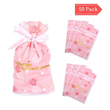 Bolsas de regalo, CNNIK 50 PCS Bolsas de dulces hornear ...