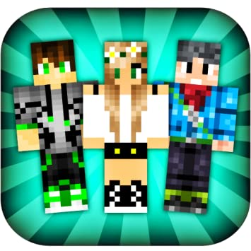 Amazoncom Skins For Minecraft PE Appstore For Android - Skin para minecraft 1 11 2
