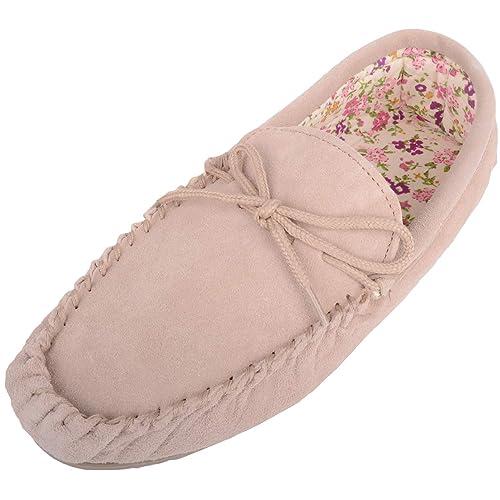 SNUGRUGS - Zapatillas de estar por casa para mujer: Amazon.es: Zapatos y complementos