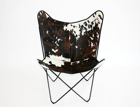 Bonet BKF-Sillón de piel de vaca: Amazon.es: Hogar
