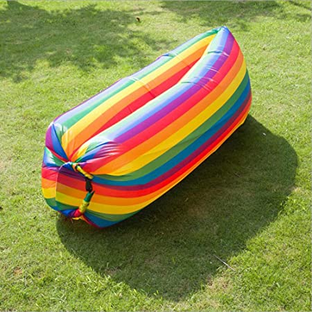 Boyi Outdoor Rayas de Arco Iris ultraligeras al Aire Libre sofá ...