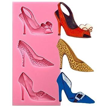 Damen Schuhe Motiv High Heels Pumps Stiletto Silikonformen Fondant ...