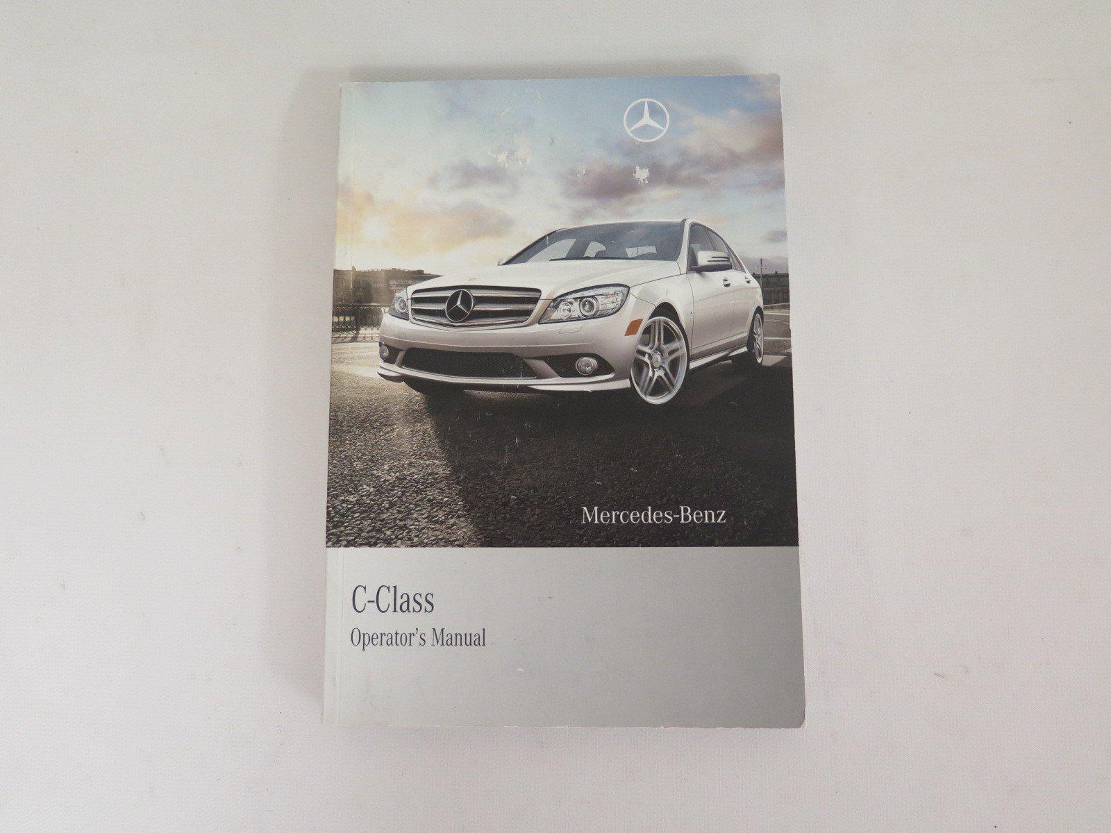 2010 mercedes benz c class owners manual with case book set rh amazon com 2011 Mercedes C-Class 2015 Mercedes C-Class