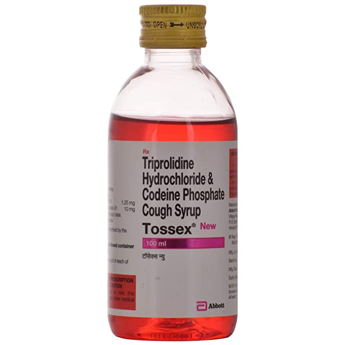 Tossex New Bottle Of 100 Ml Cough Syrup Amazon In