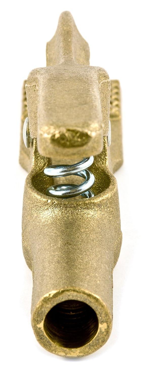Brass 200-Amp Forney 54300 Welding Ground Clamp