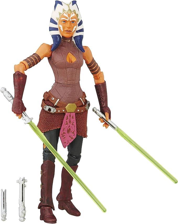 Star Wars Ahsoka Tano cabeça esculpida personalizada Série Preto Hasbro