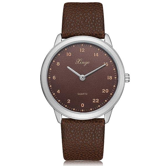 SamMoSon Relojes Hombre Deportivos Inteligentes Lotus Digitales Elegante, Reloj De Pulsera Análogo De Cuarzo Simple