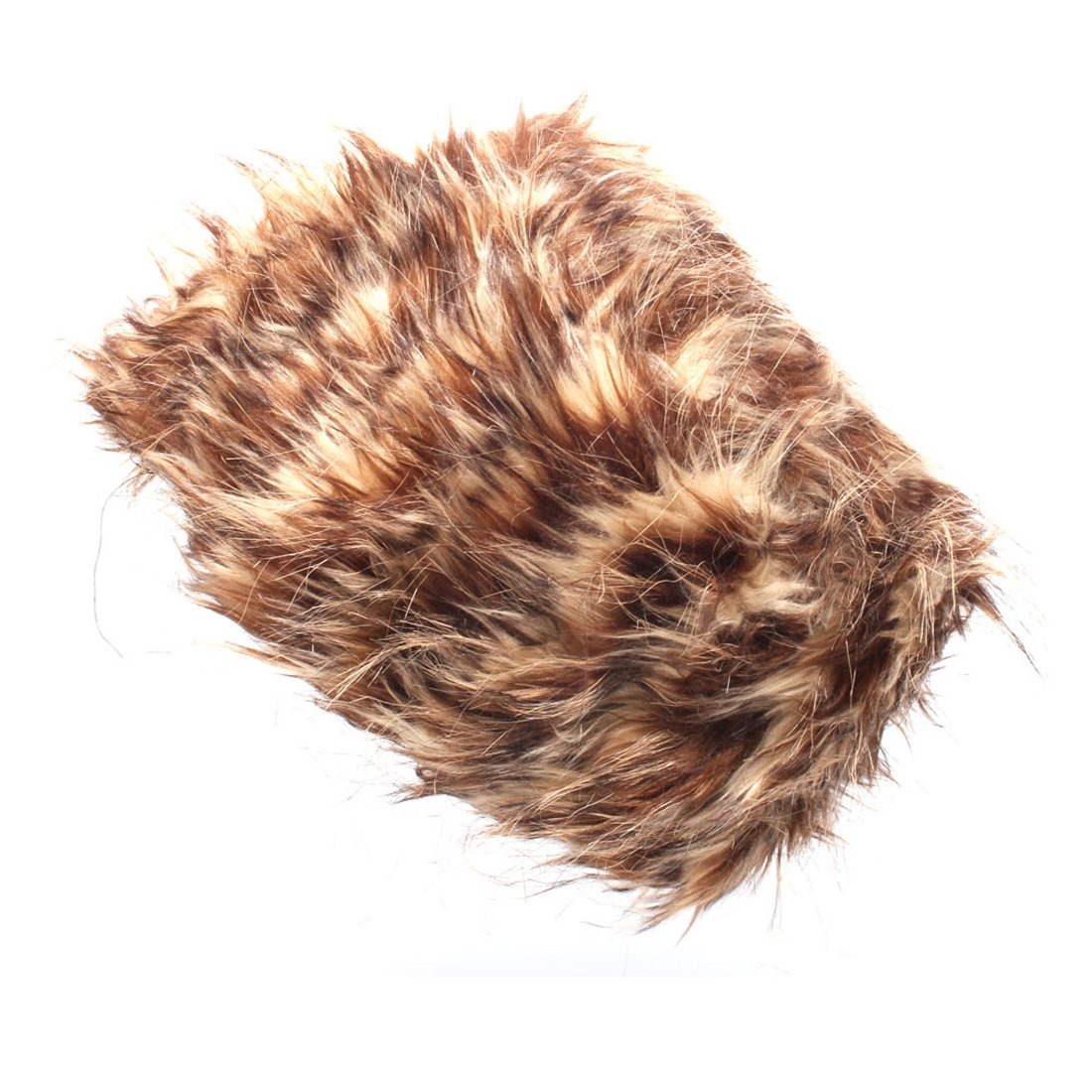 Accessoryo Stripy Strands Cossack Style Fur Trapper Hat