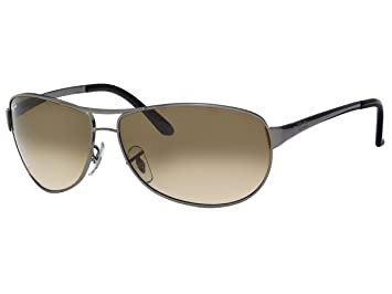 1c7f6cc07cf Ray Ban Warrior (RB3342) GunMetal Crystal Brown Gradient Sunglasses (RB3342- 004