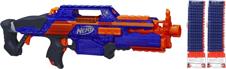 Amazon Com Nerf N Strike Elite Rapidstrike Cs 18 Blaster Special Value Pack Toys Games
