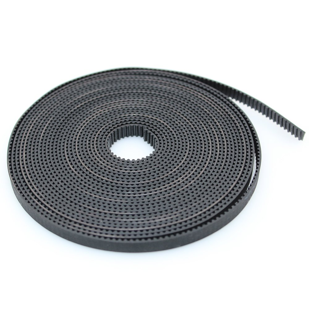 PoPprint 5 Meters GT2 6mm Width 2mm Pitch Timing Belt for 3D Printer (5m)
