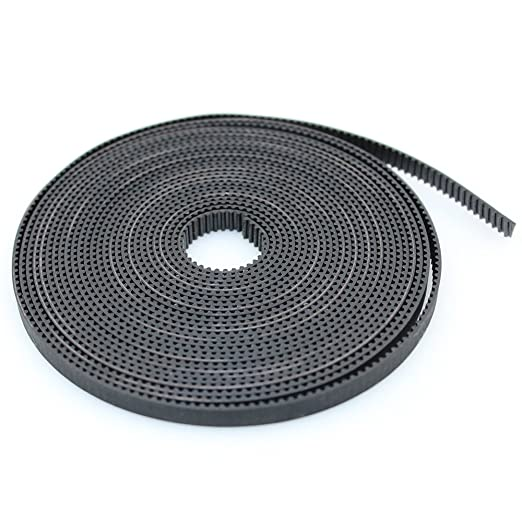 2M GT2 Timing Belt 6mm Width 2mm Pitch Wear-resistant Rubber Tooth Surface for 3D Printers Prusa i3 Anet A8 A6 Anycubic i3 Mega Creality Ender 3//5-2m