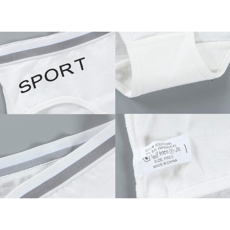 De feuilles 5 Pack Girls Assorted Hipster Briefs Cotton Knickers Underwear Underpants