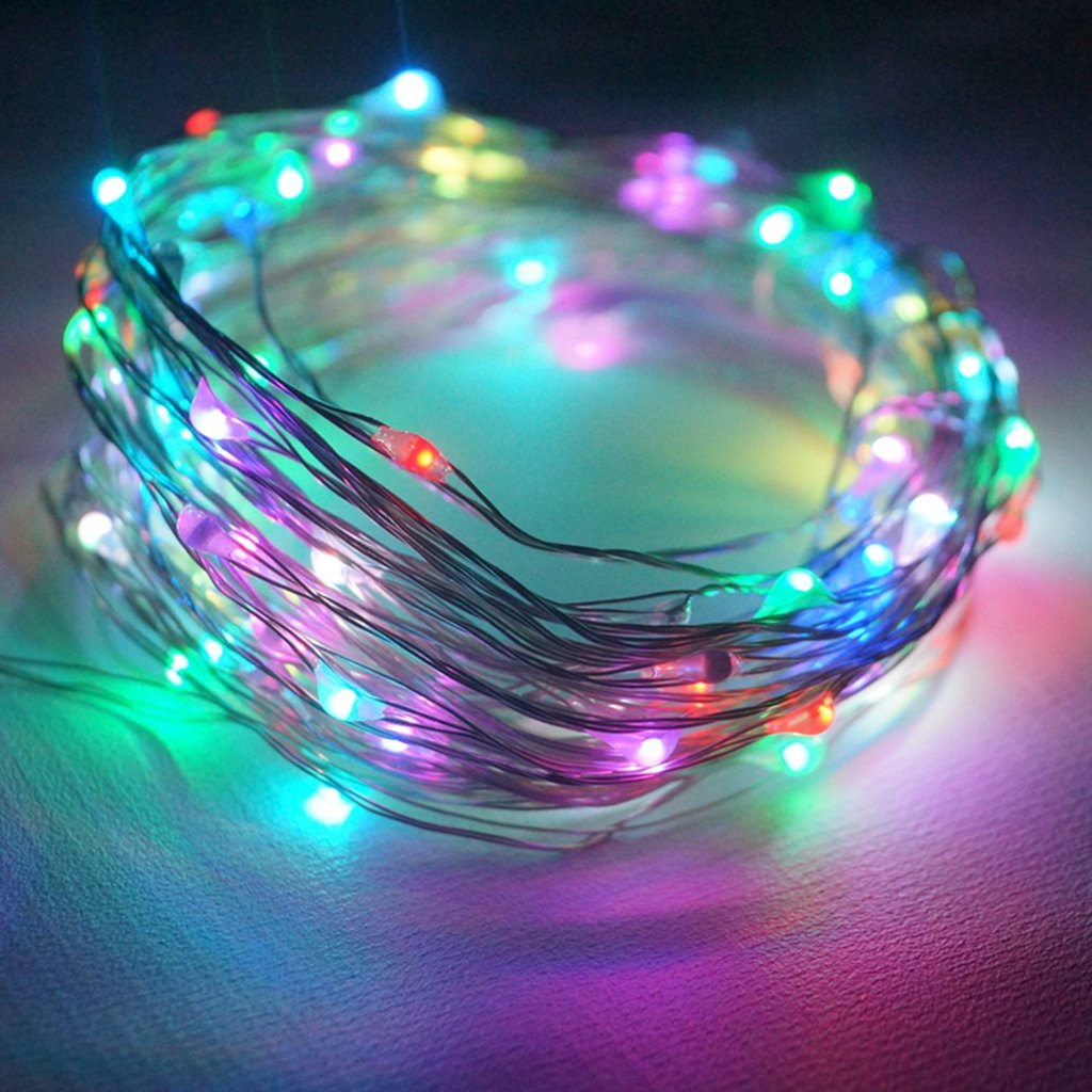 Amazon.com: YINUO LIGHT LED SopoTek 13ft 40 LEDS Starry Lights Fairy ...