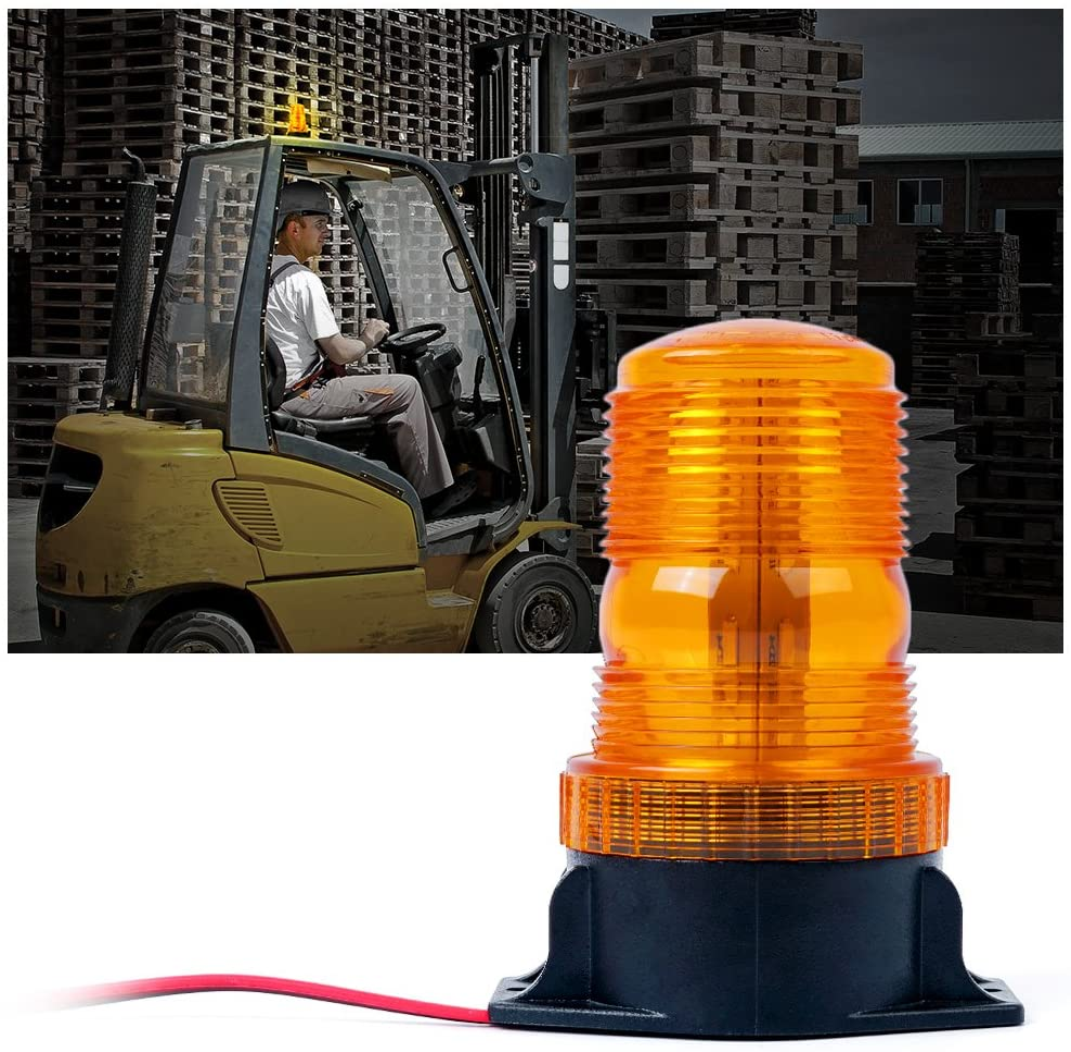 AutronLEDLight Strobe Light Bar 15 30 LED Warning Emergency Beacon Mini Magnetic Rooftop Traffic Adviser Signal Lights for Car Trucks Vehicles