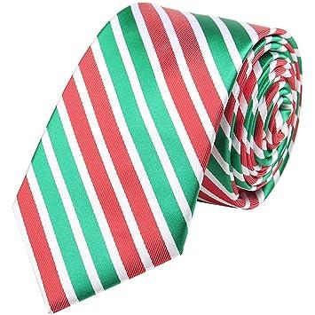 Corbata de fiesta para hombre hecha a mano con motivos navideños