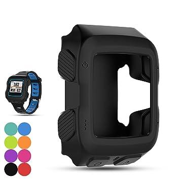 Protector de repuesto para reloj de Garmin Forerunner 920XT GPS, hecho de silicona suave, a prueba de golpes, color negro: Amazon.es: Deportes y aire libre