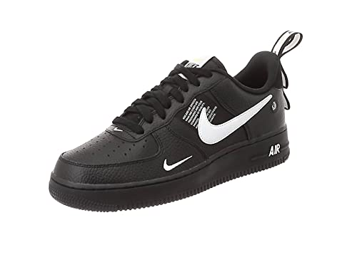 new concept b0084 5e570 Nike Men s Air Force 1  07 Lv8 Utility Gymnastics Shoes, White Black