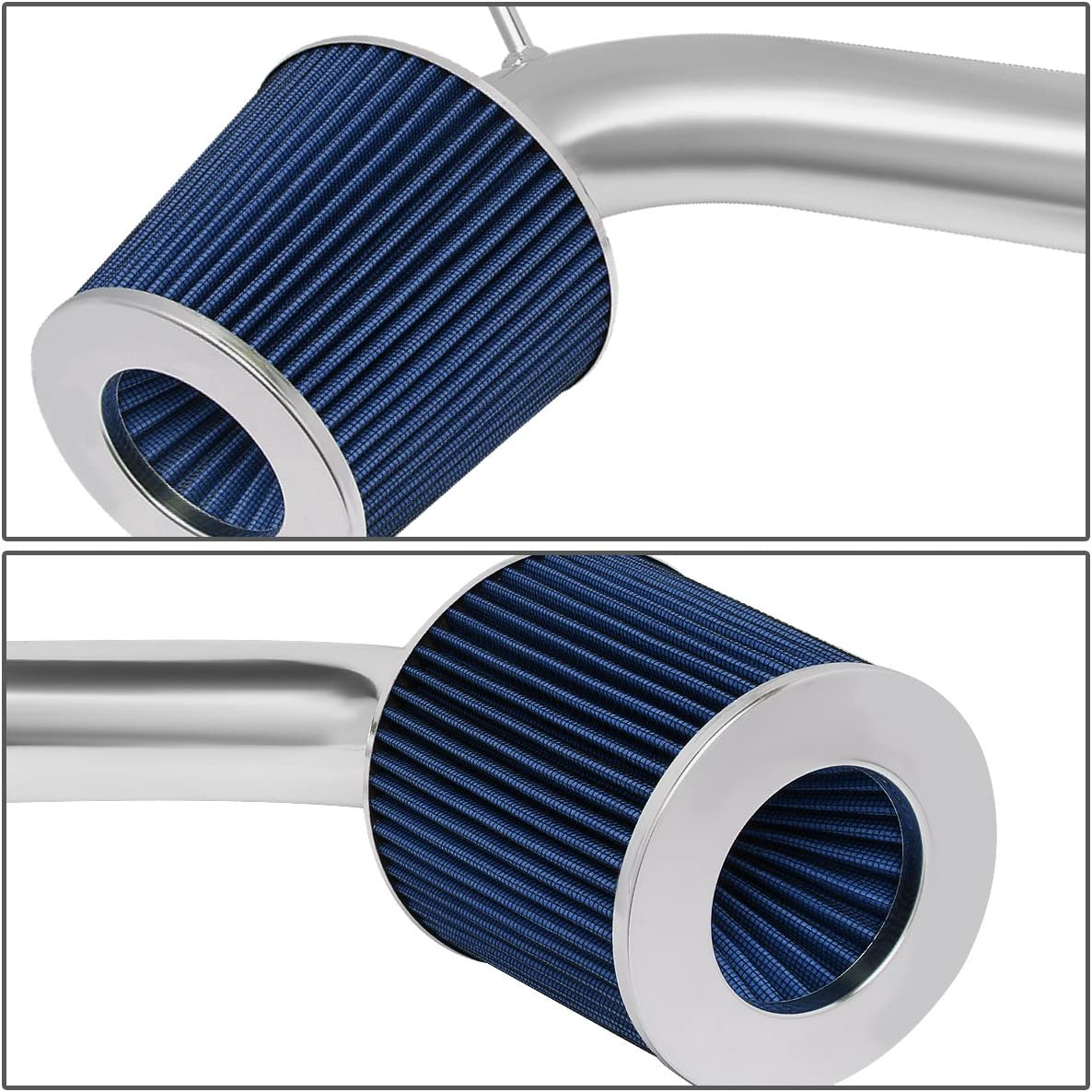 For 01-05 Lexus IS300 3.0L V6 DNA Motoring ITK-0040-BL Short Ram Air Intake System Blue